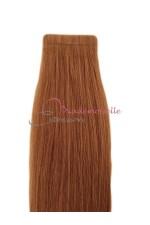 Extension bande adhésive - Blond doré acajou