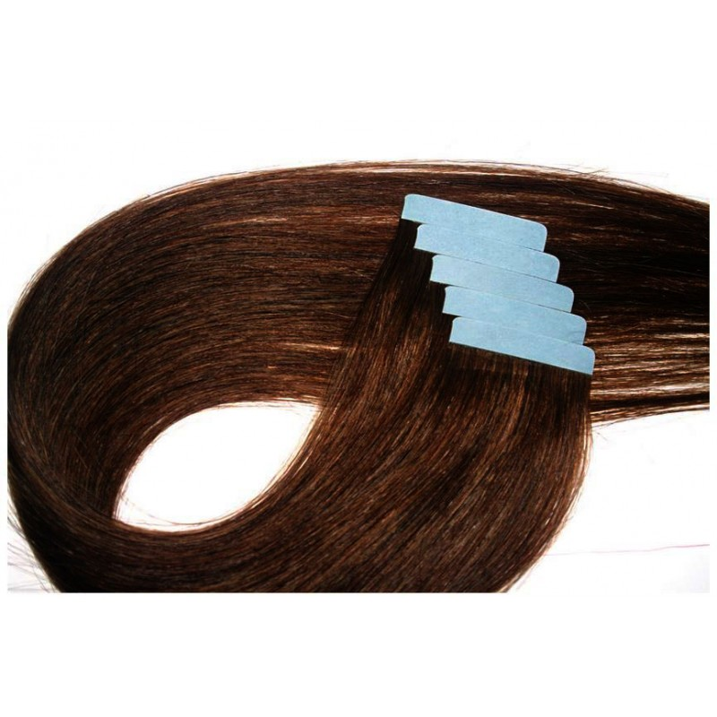 extension cheveux bande adhesive lisse chatain dore extension bande paris. Black Bedroom Furniture Sets. Home Design Ideas