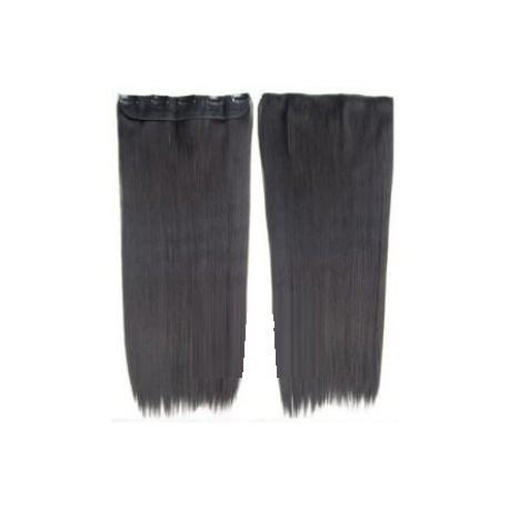 extension a clip mono bande pas cher lisse brun extension cheveux fibre professionnelle. Black Bedroom Furniture Sets. Home Design Ideas