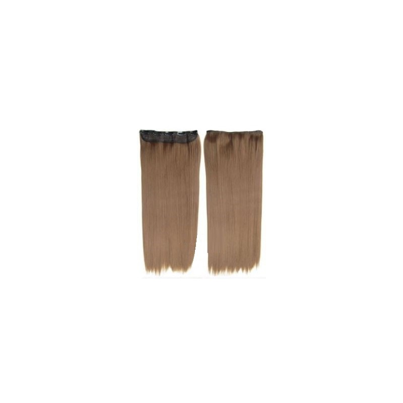 extension a clip mono bande blond naturel dore extension cheveux fibre professionnelle. Black Bedroom Furniture Sets. Home Design Ideas
