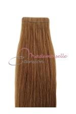 Extension cheveux bande adhésive Lisse - Blond foncé doré