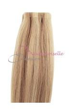 Extension cheveux bande adhésive Lisse - Blond Trés clair méché
