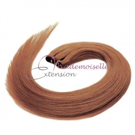 Tissage Brésilien Blond clair doré cendré - Rajout de cheveux