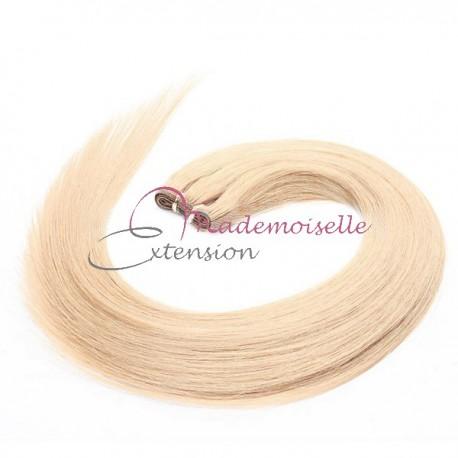 Tissage Brésilien Blond platine - Rajout de cheveux