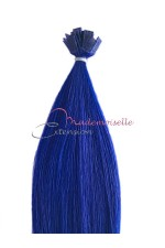 Extension a chaud lisse -  Collection Fantaisie - Bleu