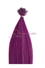 Extension a chaud lisse -  Collection Fantaisie - Violet