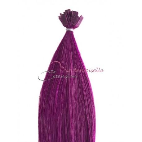 Extension a chaud lisse -  Collection Fantaisie - Violet