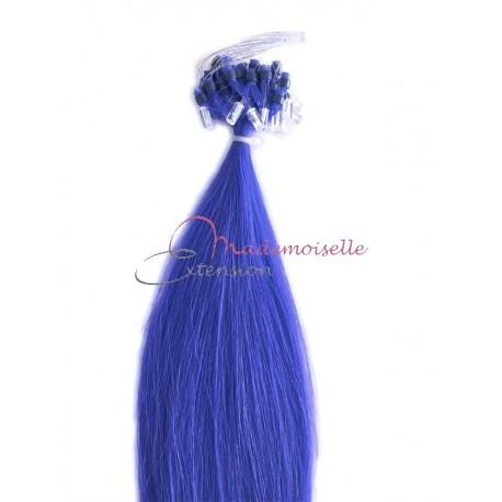 Extension à froid lisse - Loop Fantaisie - Bleu