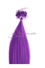 Extension a froid lisse - Loop Fantaisie - Violet