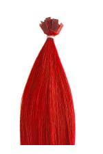 Extension a chaud lisse -  Collection Fantaisie - Rouge