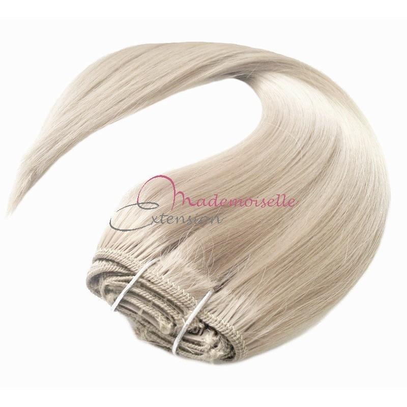 souvent Extension a Clip pas cher Blond platine | Extension cheveux VX44