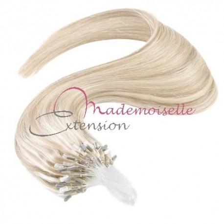 Extension à froid lisse - Loop -  Blond Platine