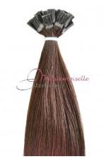 Extension Cheveux a chaud - Gamme Simply - Châtain doré