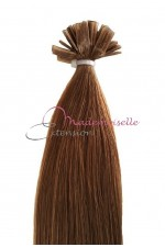 Extension Cheveux a chaud - Gamme Simply - Châtain clair doré