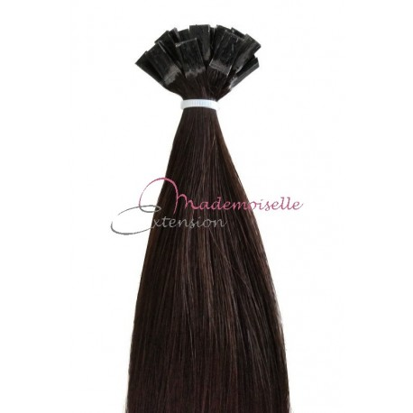 Extension Cheveux a chaud - Gamme Simply - Brun