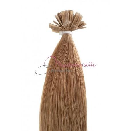 Extension Cheveux a chaud - Gamme Simply - Blond clair doré cendré