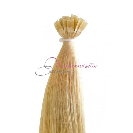 Extension Cheveux a chaud - Gamme Simply - Blond très clair doré
