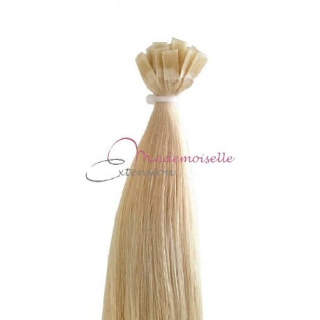 Extension Cheveux a chaud - Gamme Simply - Blond Platine