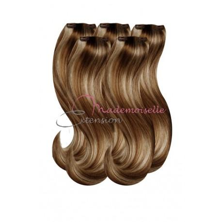 Extension a Clip Blond méché doré