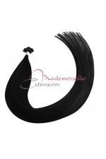 Mademoiselle Extension - Extension Cheveux kératine - Gamme Density - Noir