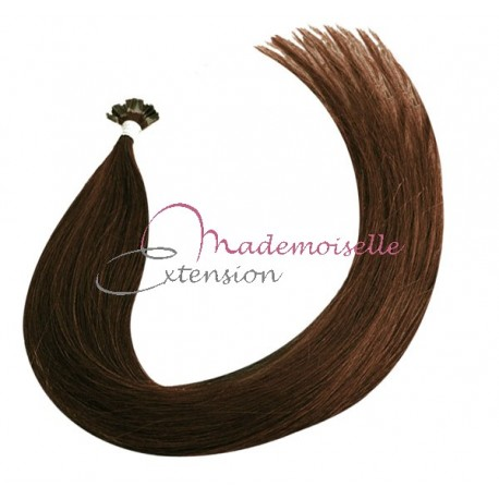 Extension Cheveux kératine - Gamme Density - Chatain doré