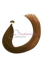 Extension Cheveux kératine - Gamme Density - Chatain clair doré