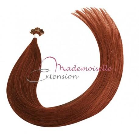 Extension Cheveux kératine - Gamme Density - Blond foncé cuivré