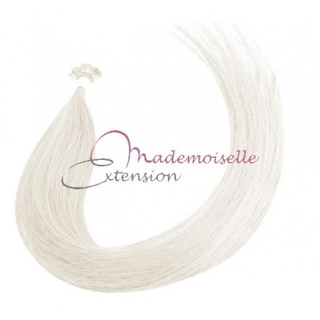 Mademoiselle Extension - Extension Cheveux kératine - Gamme Density - Blanc