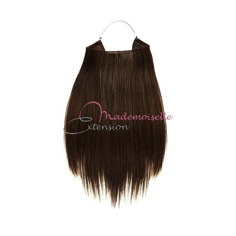 Extension cheveux naturel colle