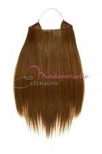 Extension cheveux naturel a enfiler - Lisse - Châtain clair doré