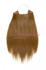 Extension cheveux naturel a enfiler - Lisse - Blond foncé doré
